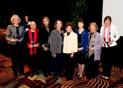 TEnnessee Women's Hall of Fame inductees with Connie and Yvonne